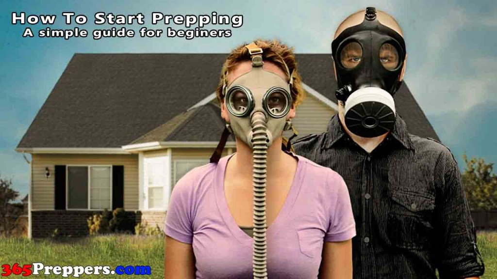 how to start prepping by 365preppers.com a simple guide for begginers